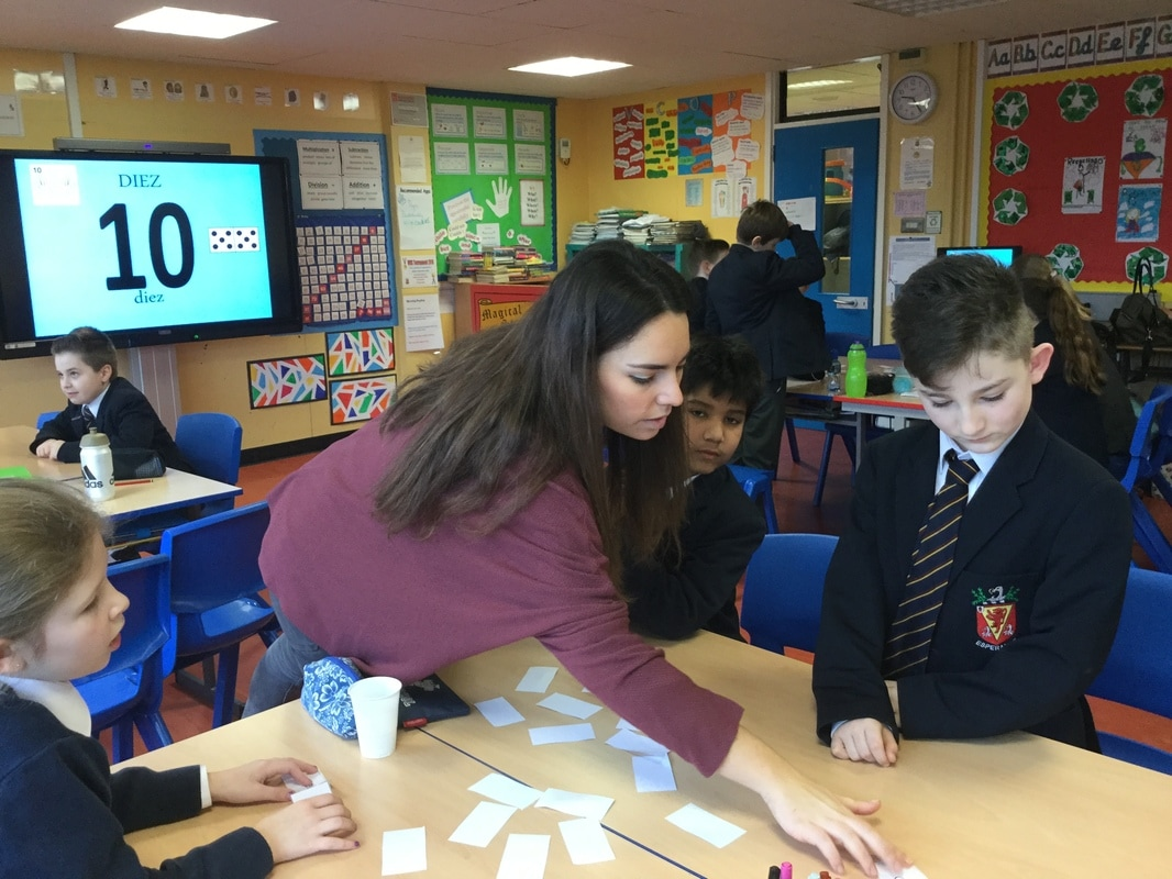 Spanish in p5 we are enjoying spanish lessons with one of the language assistants based in wallace high school we can now greet each other and count to ten in spanish m4hsunfo